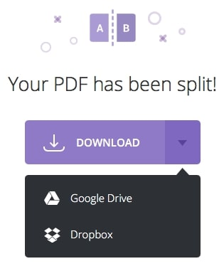 how to split a pdf into multiple files