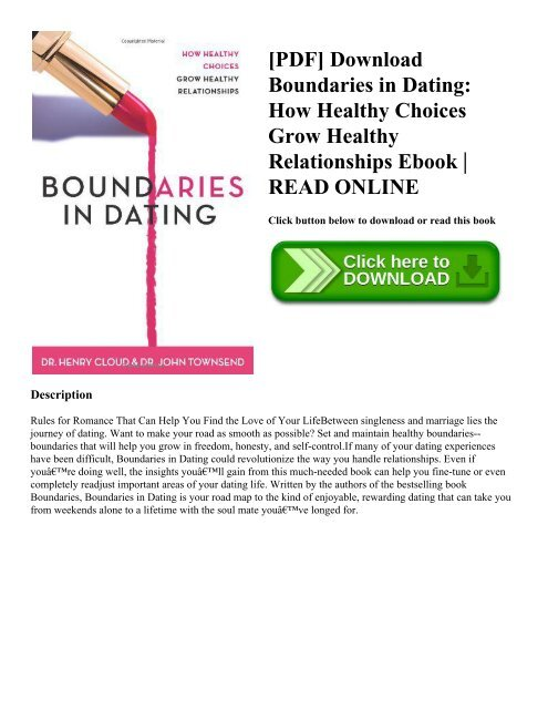healthy relationships pdf