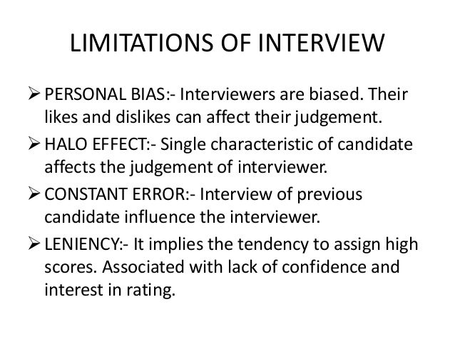 in depth interview advantages and disadvantages pdf
