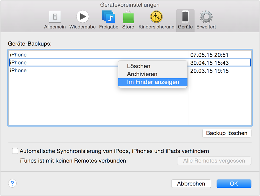 library application support mobilesync backup