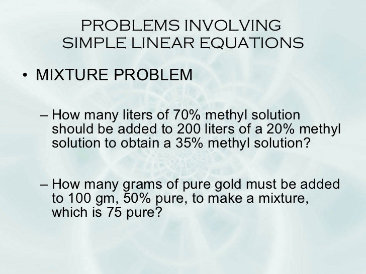 linear equation word problems with solution pdf