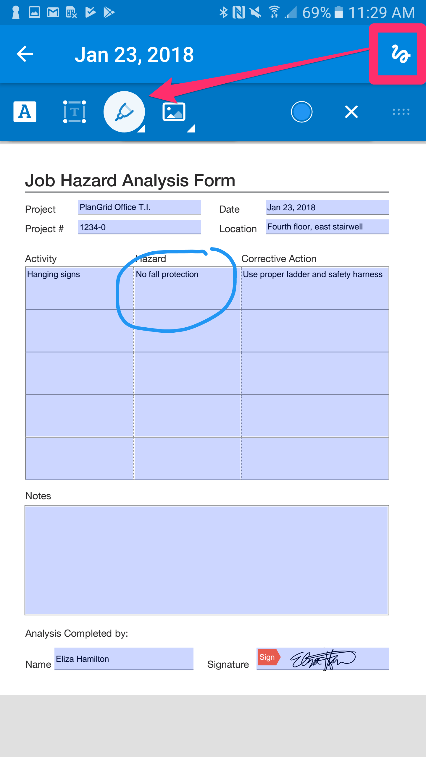 how to fill out pdf forms on android phone