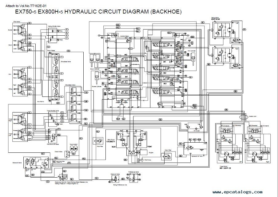 hydraulic press circuit diagram pdf