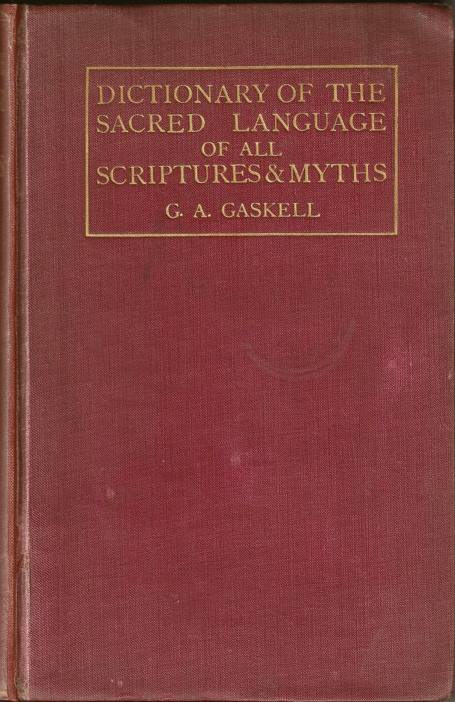 gaskell dictionary scripture myth