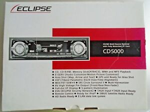 eclipse stereo manual