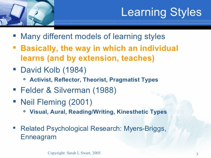 fleming n 2001 vark a guide to learning styles