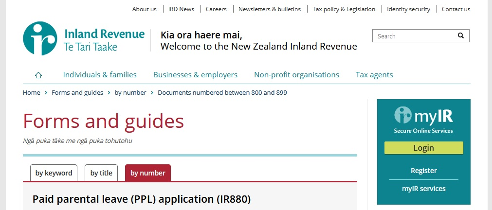imland revenue ird application trust